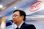 BYD Co. Chairman Wang Chuanfu Attends Interim Results News Conference